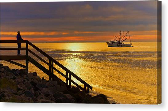 Worth Gettin Up For Canvas Print