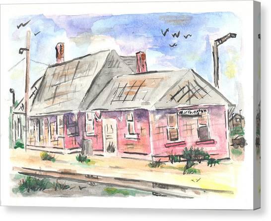 Worthington Depot Canvas Print