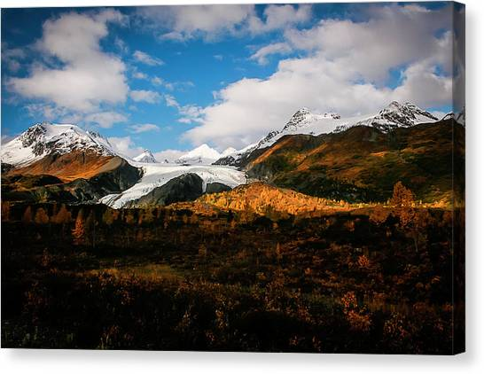 Worthington Glacier  Canvas Print