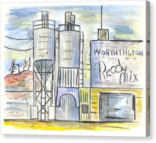 Worthington Ready Mix Canvas Print