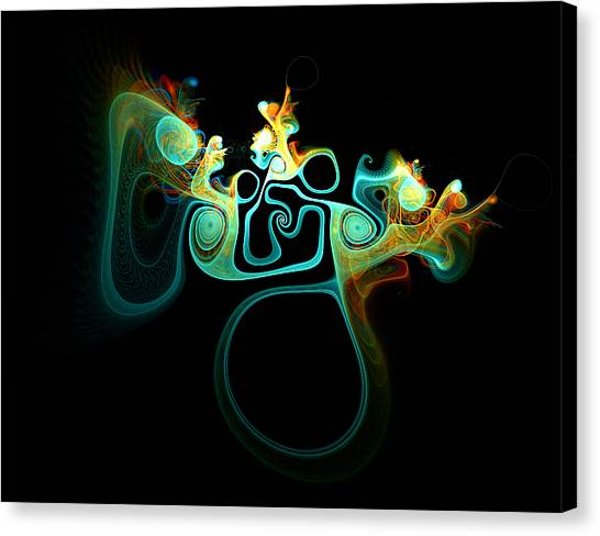 Apophysis Canvas Print - Wot's Going On In Ear by Amanda Moore