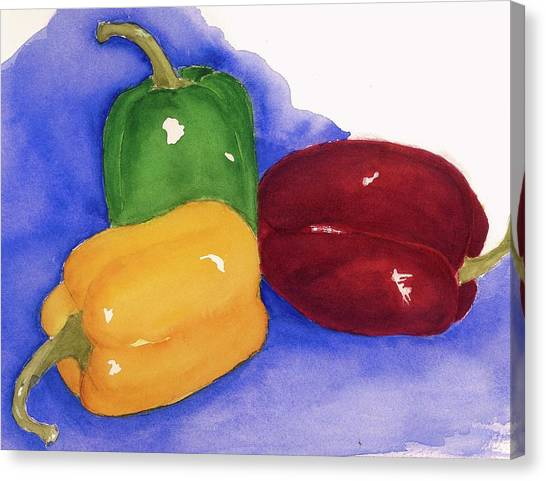 Would You Believe Peppers Canvas Print