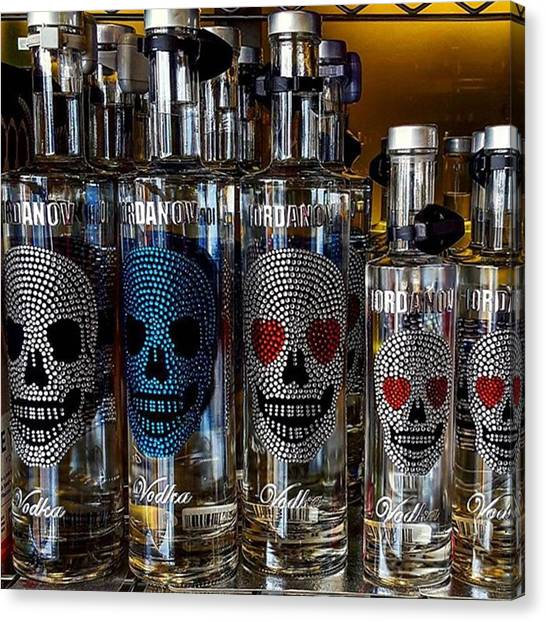 Would You Drink This #vodka? Also What Canvas Print by Dante Harker