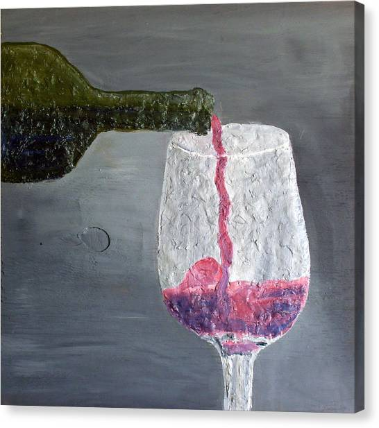 Would You Like A Glass Or Would You Mine If I Canvas Print