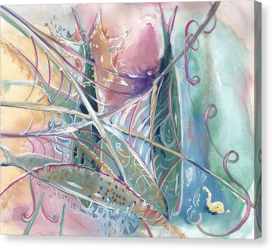 Woven Star Fish Canvas Print