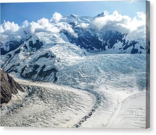 Wrangell Alaska Glacier Canvas Print