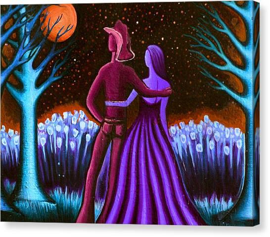 Wrangler's Moon IIi Canvas Print by Brenda Higginson