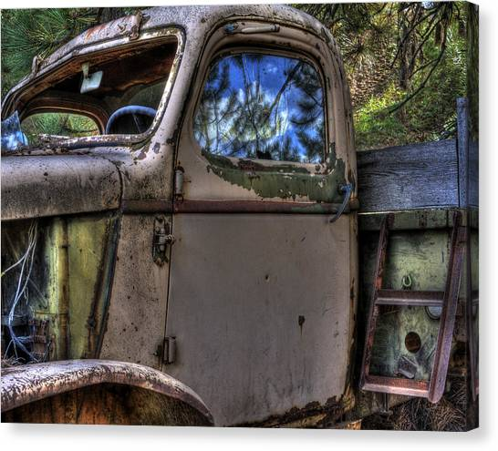 Wrecking Yard Study 4 Canvas Print