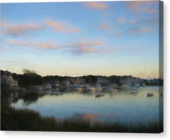 Wrentham Sunset Canvas Print by JAMART Photography