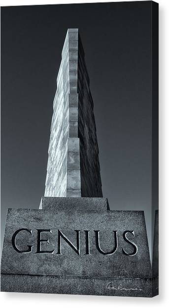 Wright Brothers Genius 6544 Canvas Print