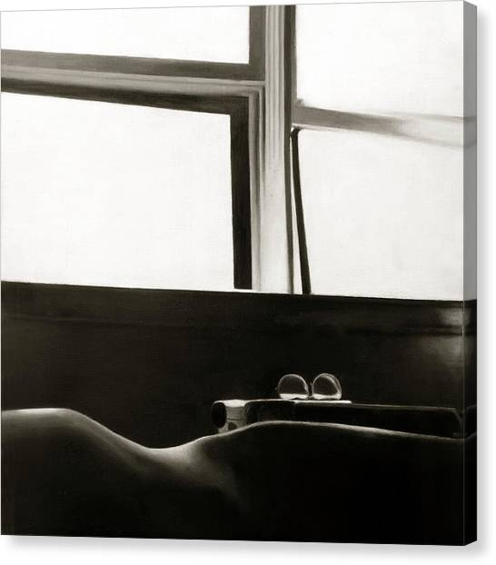 Writer's Repose Canvas Print by Anni Adkins