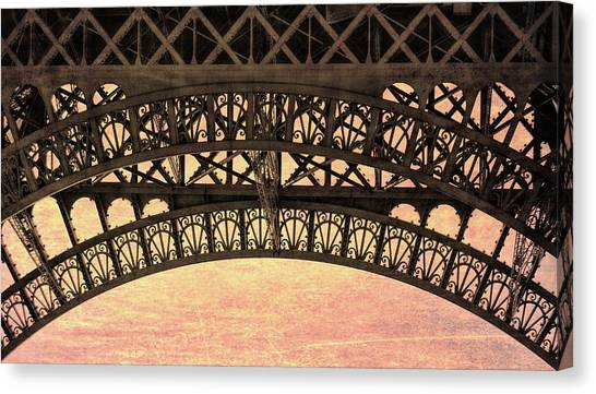 Wrought Iron Art Canvas Print by JAMART Photography