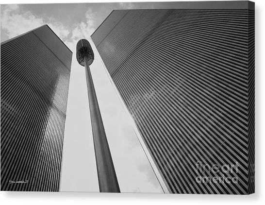 Wtc, 1982 Canvas Print by Marc Nader