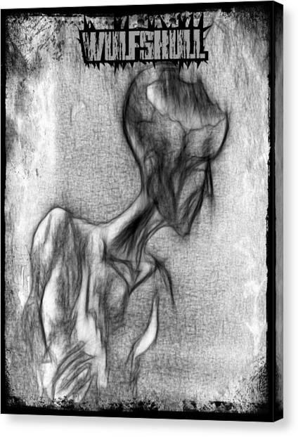 Wulfskull#3 Canvas Print