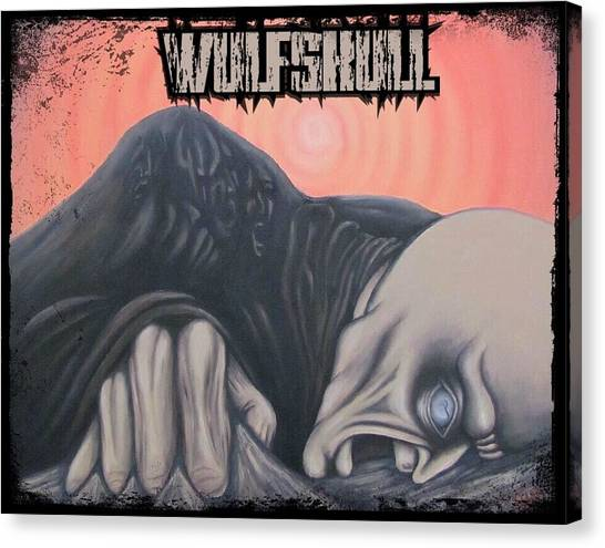Wulfskull#4 Canvas Print