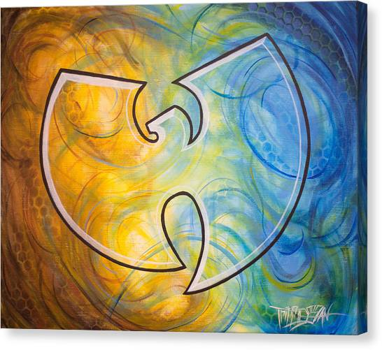 Wu Tang Canvas Print - Wutang Gutterfly by Tripp Doogan
