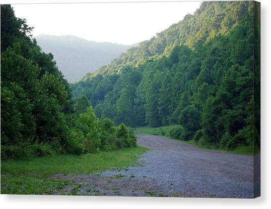 Wv Hollow Canvas Print