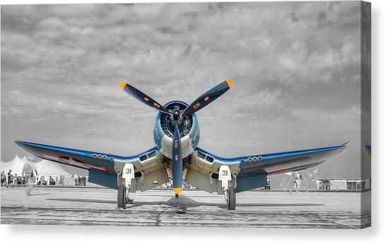 Ww II Fighter Plane 2 Canvas Print