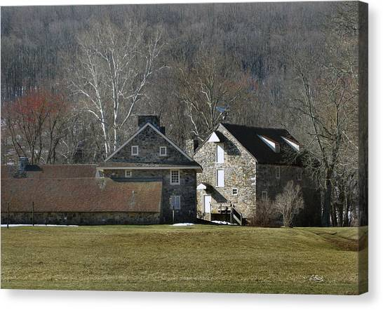 Wyeth Home In Spring Canvas Print