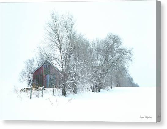 Wyeth Winter Canvas Print