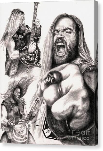 Wylde Man Canvas Print