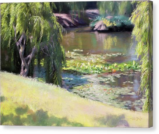Wynberg Lily Pond Canvas Print