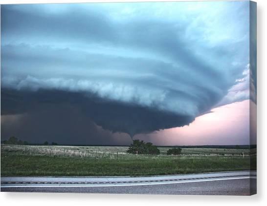 Wynnewood Tornado Canvas Print