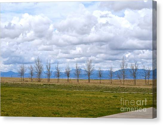 Wyoming-dwyer Junction Canvas Print