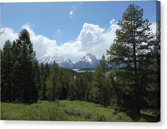 Wyoming 6500 Canvas Print
