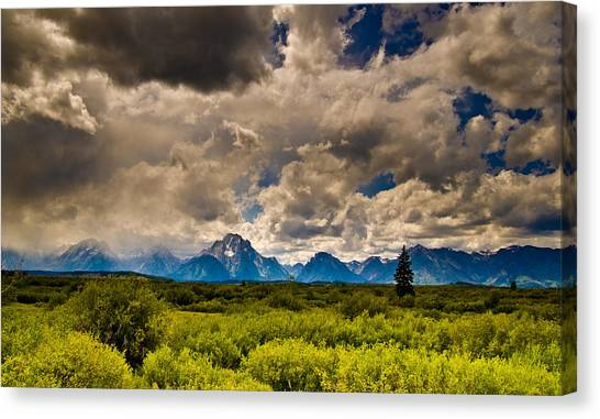 Wyoming Sky Canvas Print by Patrick  Flynn