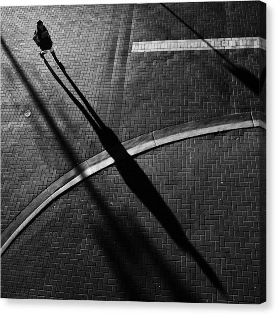 Shadows Canvas Print - X by Jianwei Yang