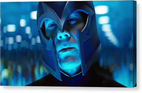Rulers Canvas Print - X-men First Class by Maye Loeser