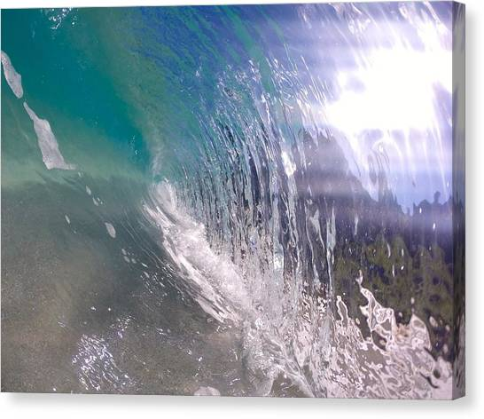Bodyboard Canvas Print - X-ray Glass by Benen  Weir