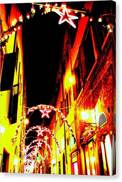X'mas In Florence Canvas Print