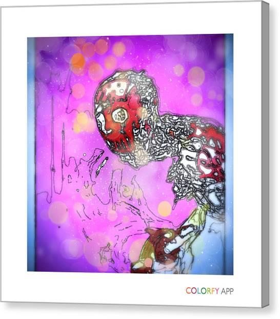 Canvas Print - Xmas Jason by Dan Sheldon
