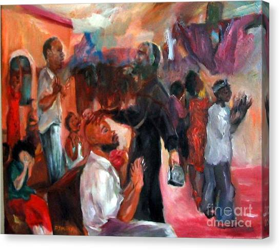 Xorcising Demons And Saving Souls Canvas Print by Patrick Mills