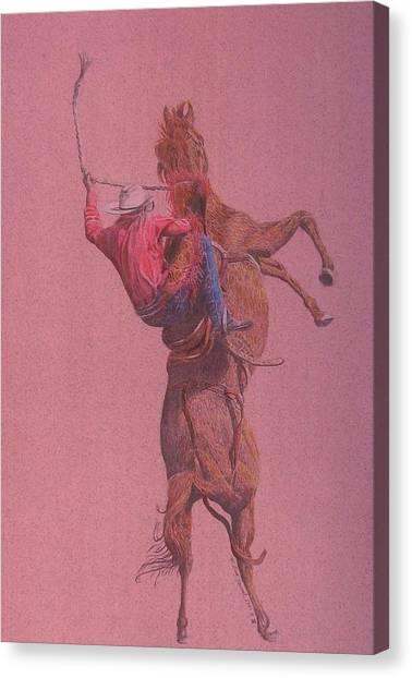 Yaa Hoooo Canvas Print by Dan Hausel