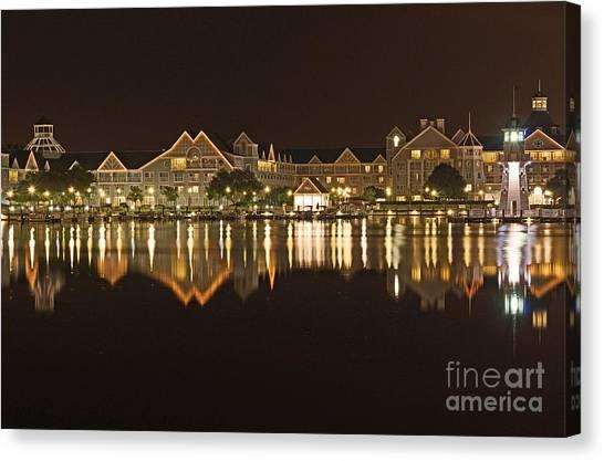 Yacht Club Villas - Walt Disney World Canvas Print