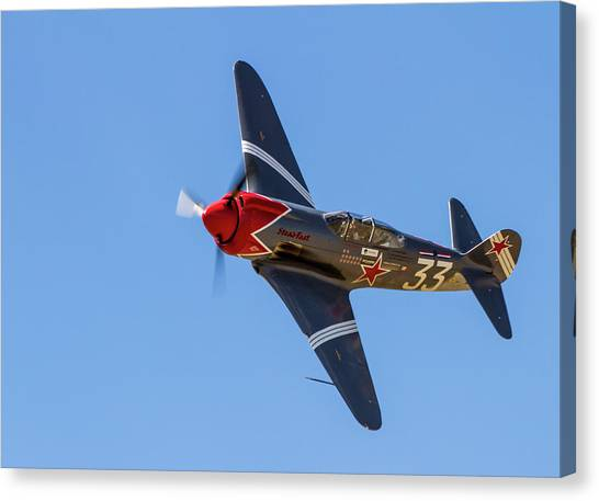 Yak 3 Steadfast Canvas Print