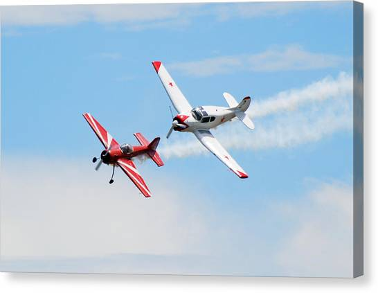Yak 55 And Yak 18 Canvas Print