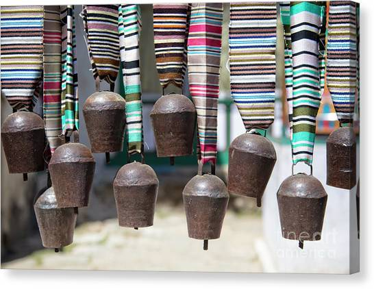 Canvas Print featuring the photograph Yak Bells by Scott Kemper