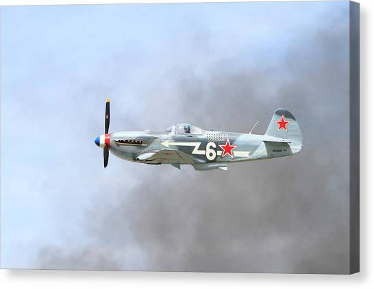 Wii Canvas Print - Yak Through The Smoke by Shoal Hollingsworth