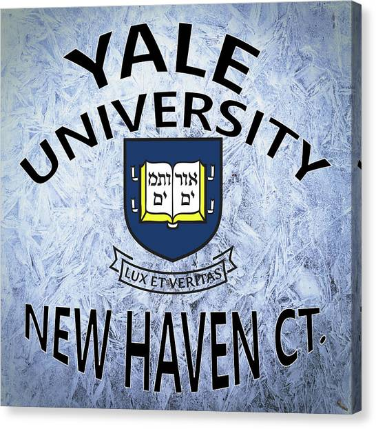 Yale University Canvas Print - Yale University New Haven Ct.  by Movie Poster Prints