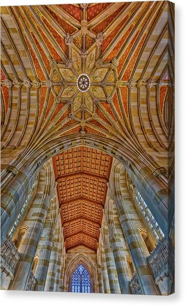 Yale University Canvas Print - Yale University Sterling Library by Susan Candelario