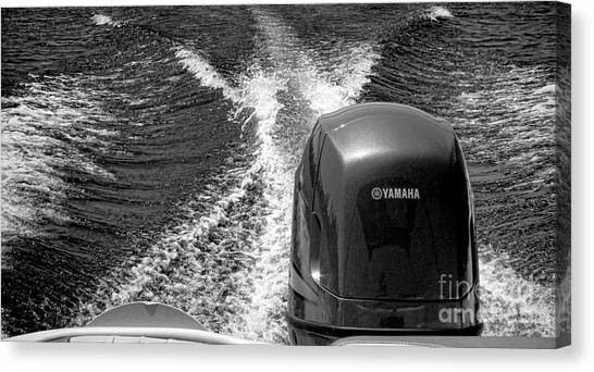 Yamaha Canvas Print - Yamaha Power by Olivier Le Queinec