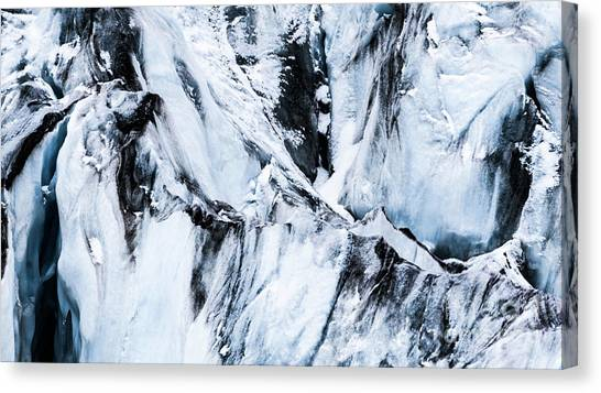 Ice Climbing Canvas Print - Frozen by DiFigiano Photography