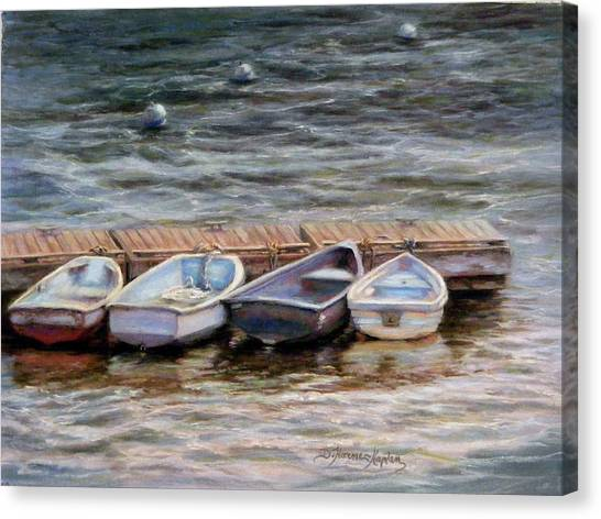 Yarmouth Dory's Canvas Print