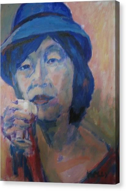 Yashin Canvas Print by Charles Kelly