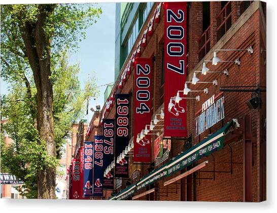 Yawkee Way Canvas Print