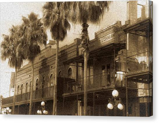 Ybor City Canvas Print by Patrick  Flynn